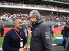 GP SPAGNA, 13.05.2018 - Gara, Jean Alesi (FRA) e Mansour Ojeh, McLaren shareholder