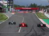 GP SPAGNA, 13.05.2018 - Gara, Sebastian Vettel (GER) Ferrari SF71H e Kevin Magnussen (DEN) Haas F1 Team VF-18