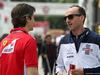GP SPAGNA, 10.05.2018 - Massimo Rivola (ITA), Ferrari Driver Academy e Robert Kubica (POL) Williams FW41 Reserve e Development Driver