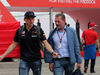 GP SPAGNA, 10.05.2018 - Max Verstappen (NED) Red Bull Racing RB14 with his father Jos Verstappen (NED)