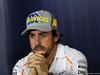 GP SPAGNA, 10.05.2018 - Conferenza Stampa, Fernando Alonso (ESP) McLaren MCL33
