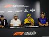 GP SPAGNA, 10.05.2018 - Conferenza Stampa, (L-R) Sergio Perez (MEX) Sahara Force India F1 VJM011, Fernando Alonso (ESP) McLaren MCL33, Carlos Sainz Jr (ESP) Renault Sport F1 Team RS18 e Brendon Hartley (NZL) Scuderia Toro Rosso STR13