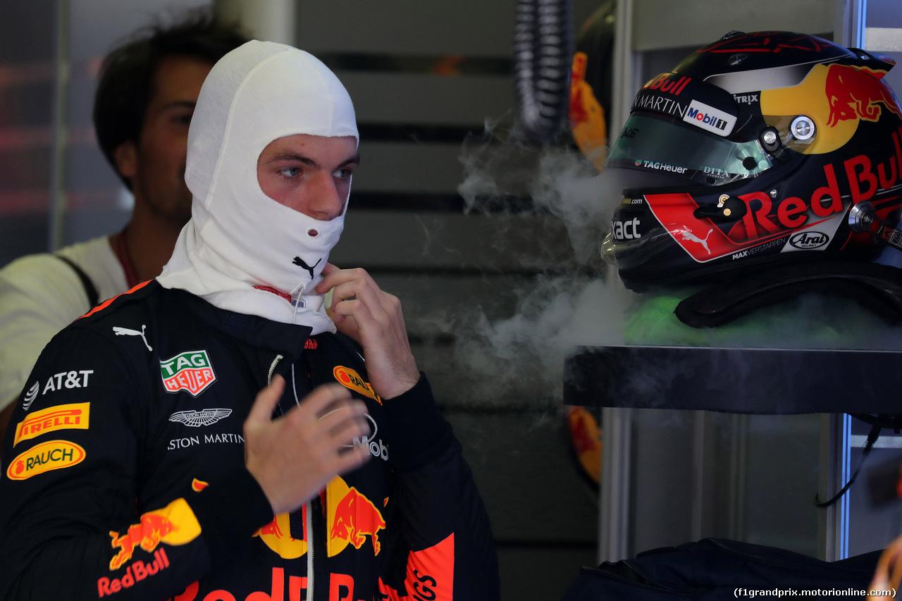 GP UNGHERIA, 29.07.2018 - Gara, Max Verstappen (NED) Red Bull Racing RB14