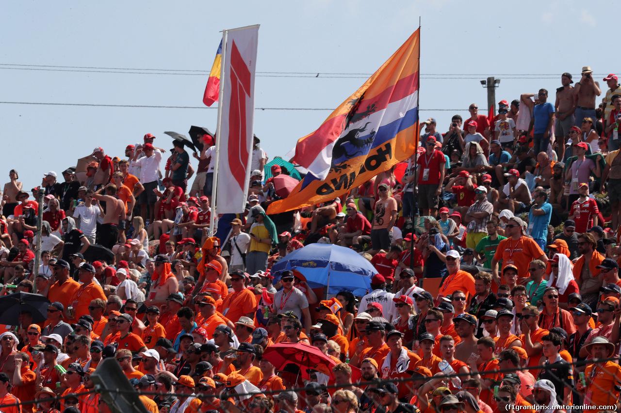 GP UNGHERIA, 29.07.2018 - Gara, Fans