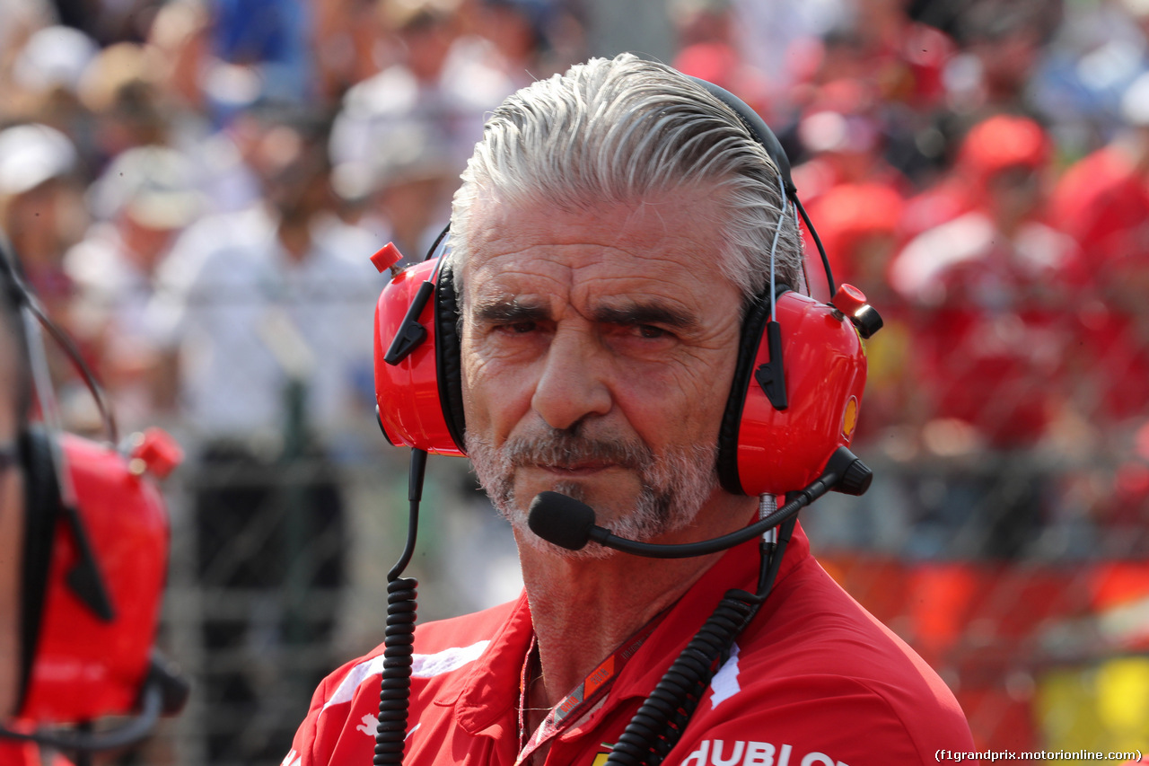 GP UNGHERIA, 29.07.2018 - Gara, Maurizio Arrivabene (ITA) Ferrari Team Principal