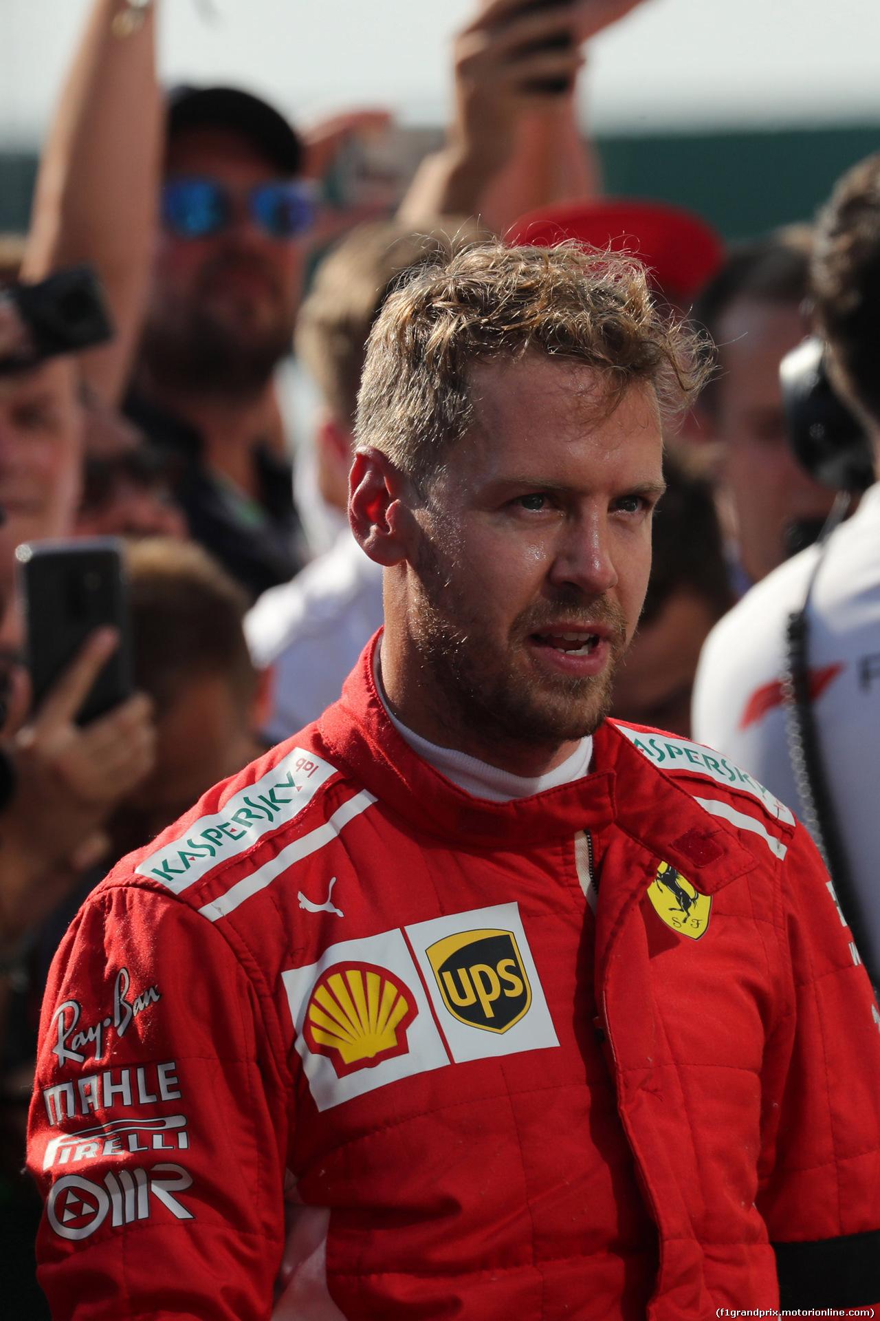 GP UNGHERIA, 29.07.2018 - Gara, 2nd place Sebastian Vettel (GER) Ferrari SF71H