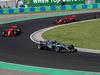 GP UNGHERIA, 29.07.2018 - Gara, Valtteri Bottas (FIN) Mercedes AMG F1 W09 davanti a Sebastian Vettel (GER) Ferrari SF71H e Kimi Raikkonen (FIN) Ferrari SF71H