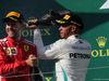 GP UNGHERIA, 29.07.2018 - Gara, 2nd place Sebastian Vettel (GER) Ferrari SF71H e Lewis Hamilton (GBR) Mercedes AMG F1 W09 vincitore