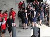 GP UNGHERIA, 28.07.2018 - Mechanics wait to enter the paddock.
