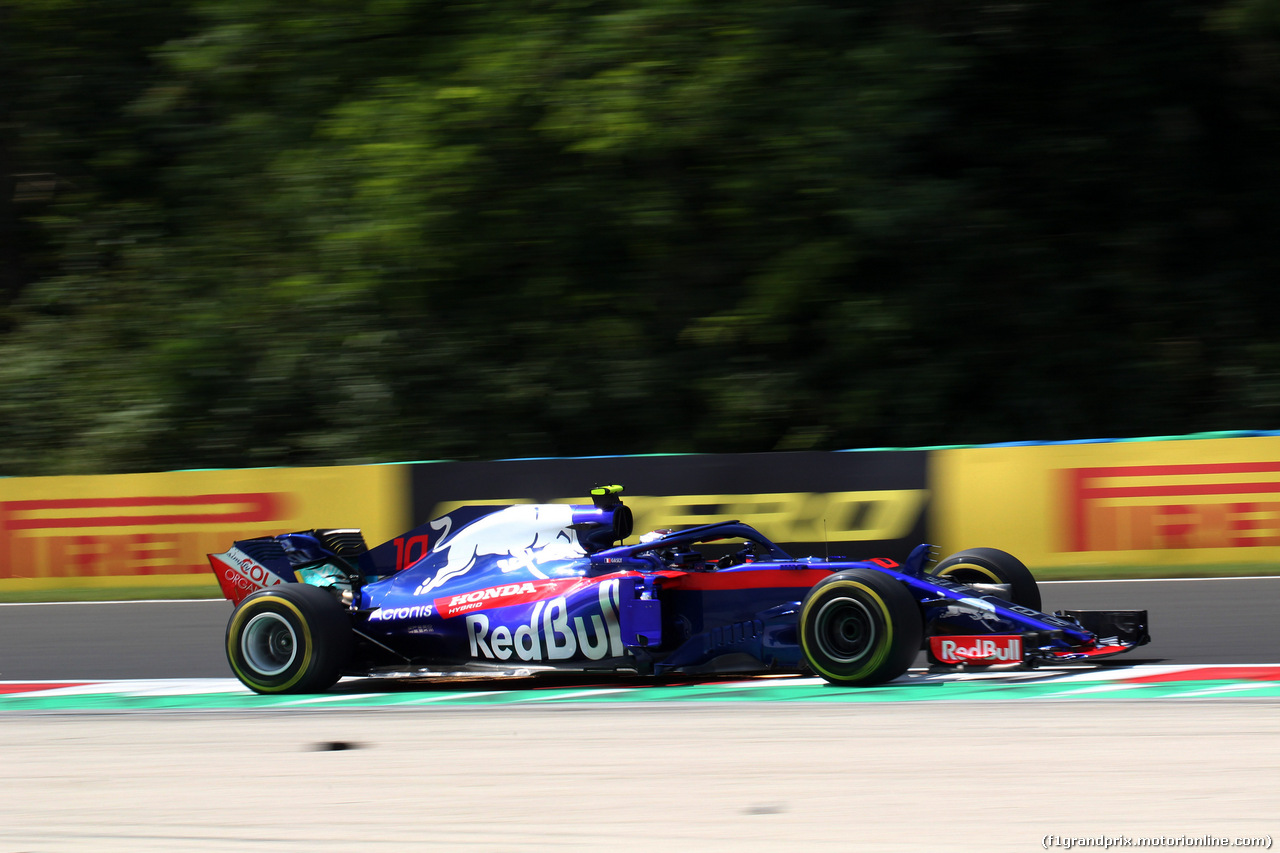 GP UNGHERIA, 27.07.2018 - Prove Libere 1, Pierre Gasly (FRA) Scuderia Toro Rosso STR13
