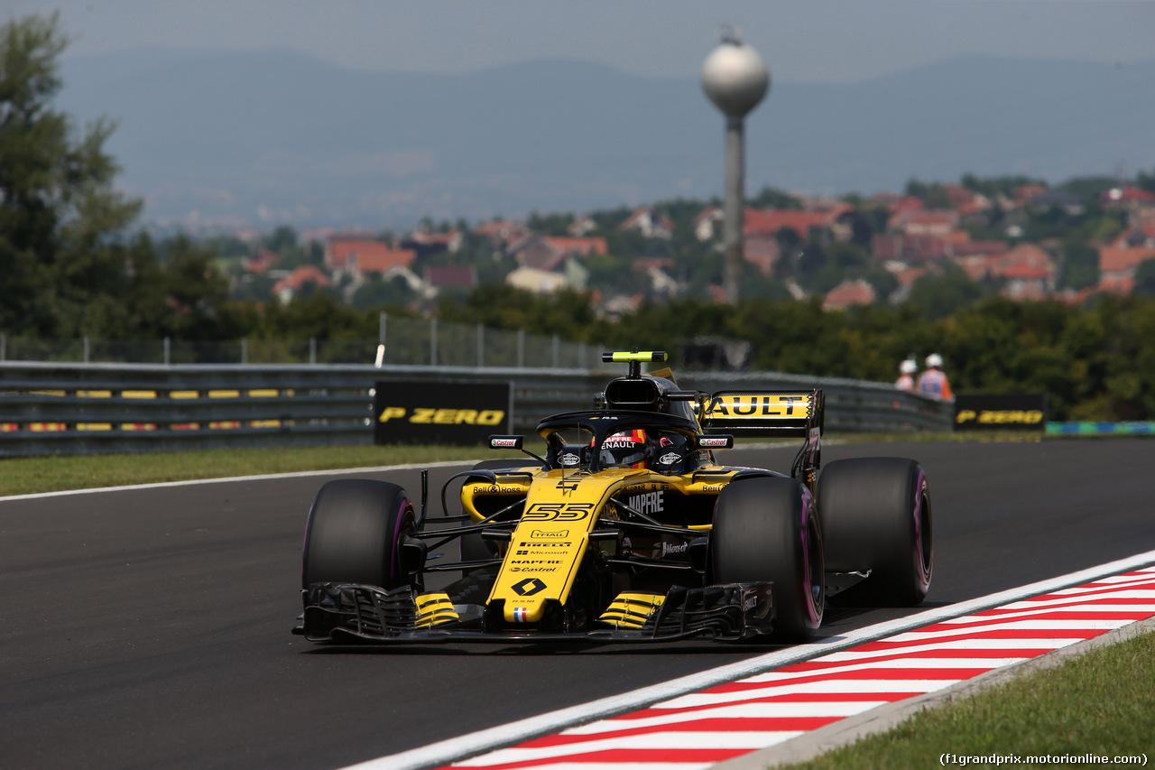 GP UNGHERIA, 27.07.2018 - Prove Libere 1, Carlos Sainz Jr (ESP) Renault Sport F1 Team RS18