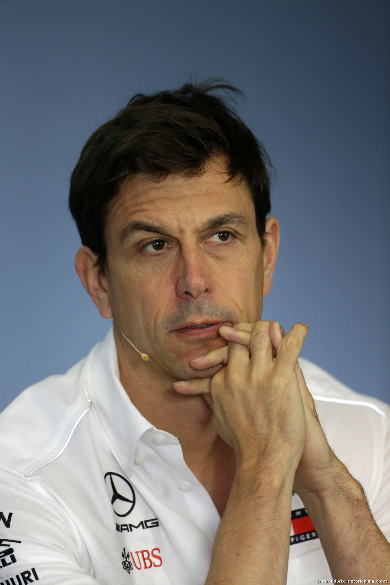 GP UNGHERIA, 27.07.2018 - Conferenza Stampa, Toto Wolff (GER) Mercedes AMG F1 Shareholder e Executive Director