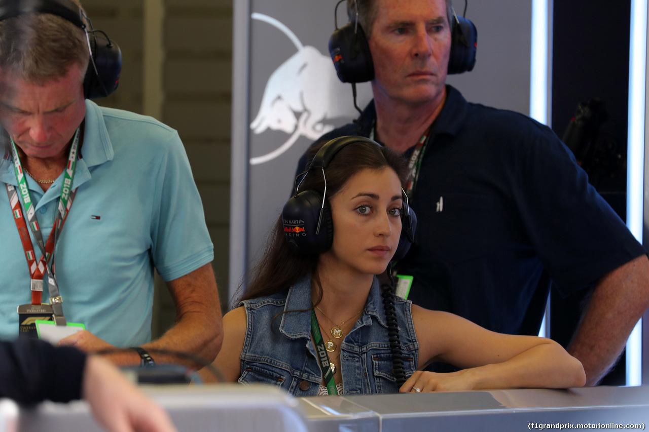 GP UNGHERIA, 27.07.2018 - Prove Libere 2, Dilara Sanlik, girlfriend of Max Verstappen (NED)