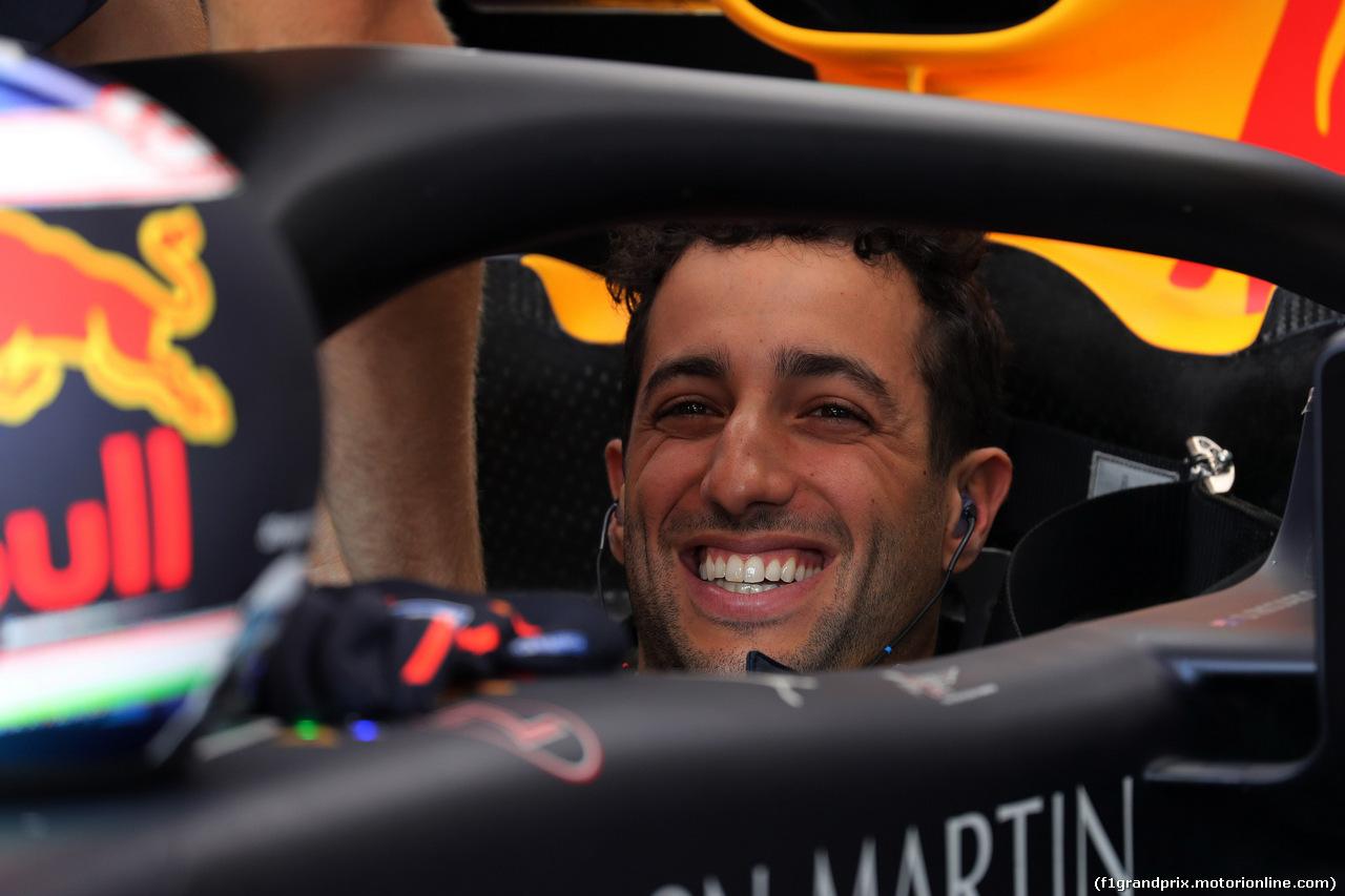 GP UNGHERIA, 27.07.2018 - Prove Libere 2, Daniel Ricciardo (AUS) Red Bull Racing RB14