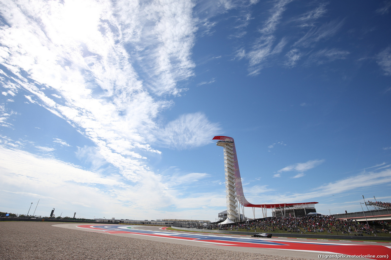 GP USA, 21.10.2018- Gara, Sergej Sirotkin (RUS) Williams F1 Team FW41