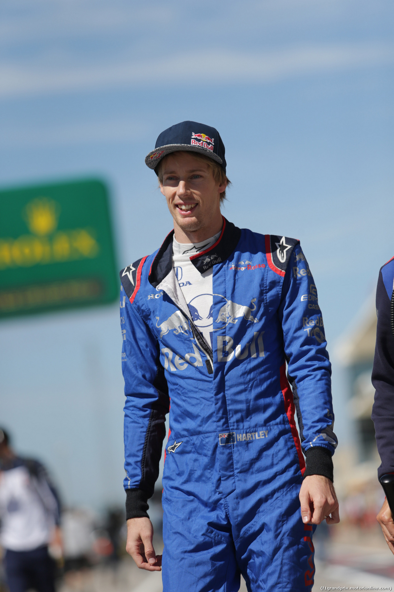 GP USA, 21.10.2018- Gara, Brendon Hartley (FRA) Scuderia Toro Rosso STR13