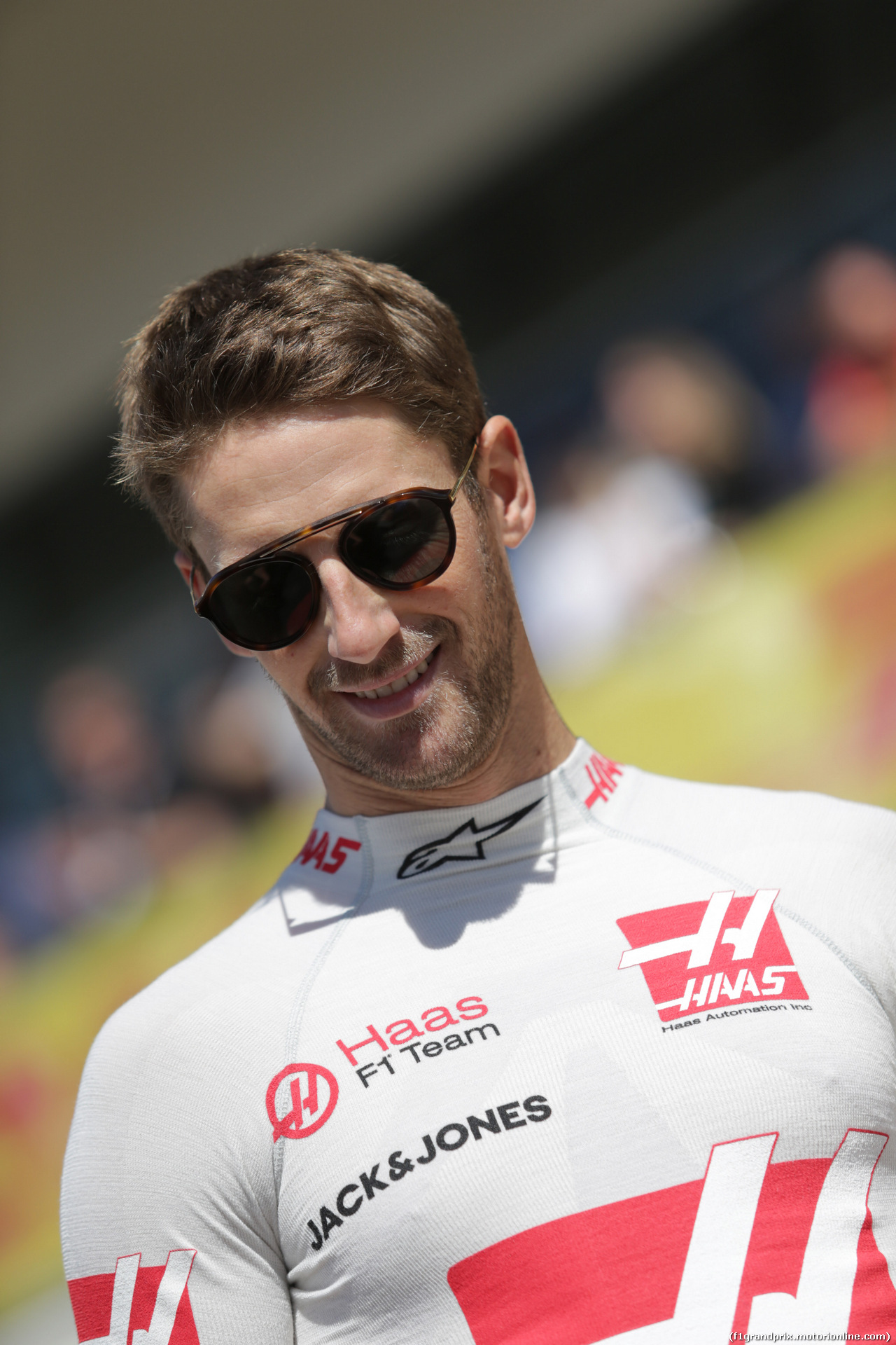 GP USA, 21.10.2018- Gara, Romain Grosjean (FRA) Haas F1 Team VF-18