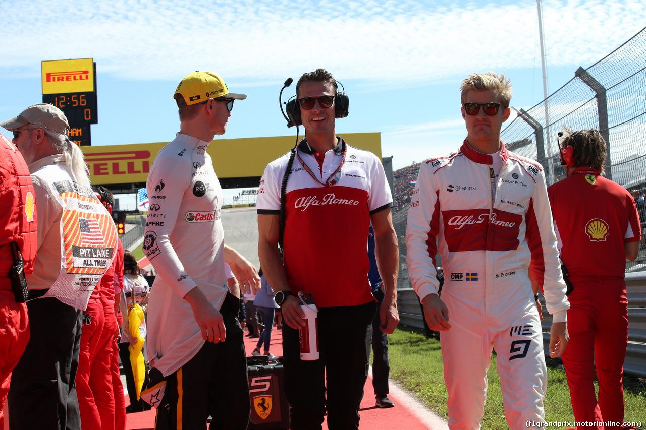 GP USA, 21.10.2018- Gara, Marcus Ericsson (SUE) Alfa Romeo Sauber C37