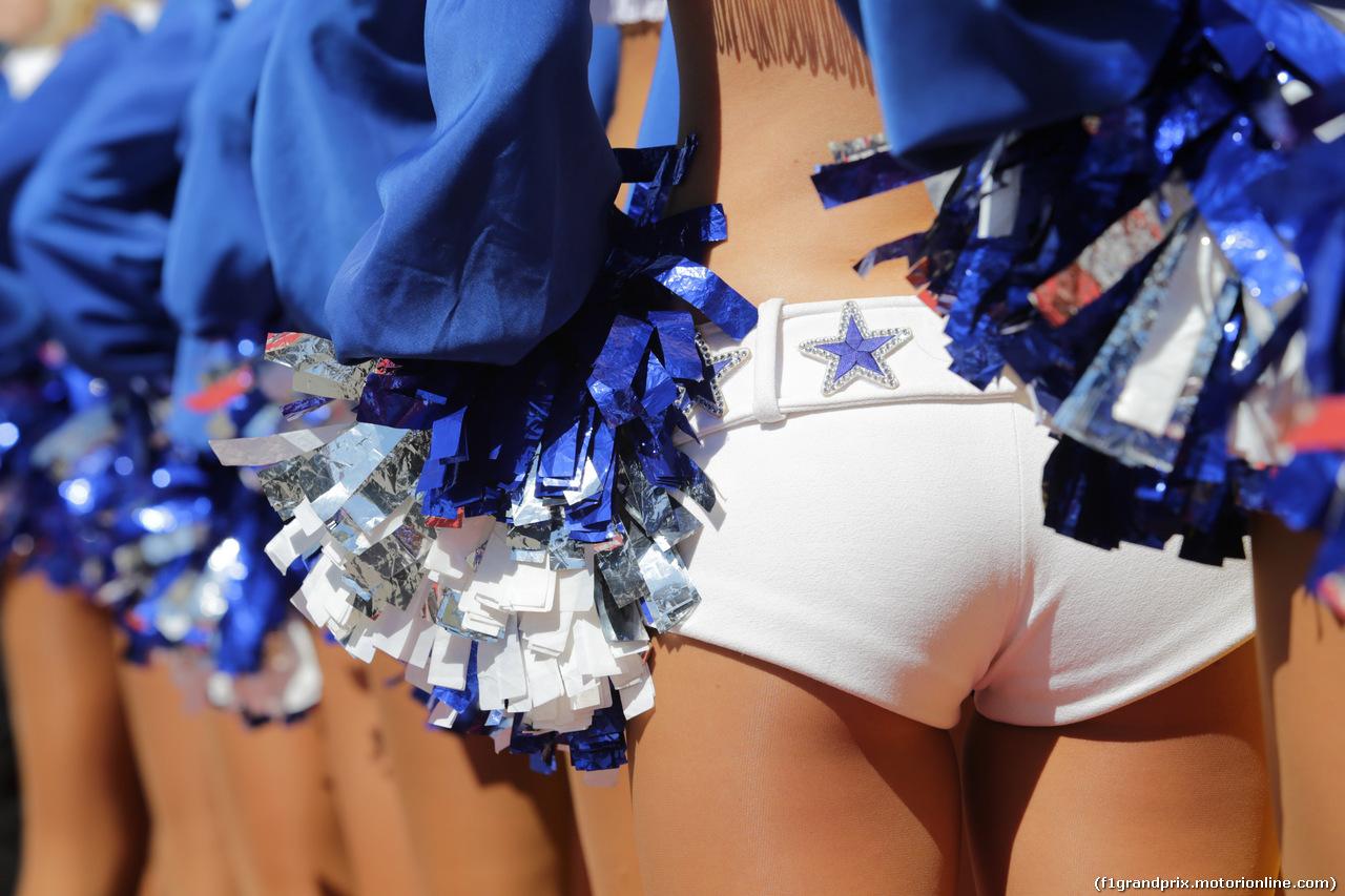 GP USA, 21.10.2018- cheerleader