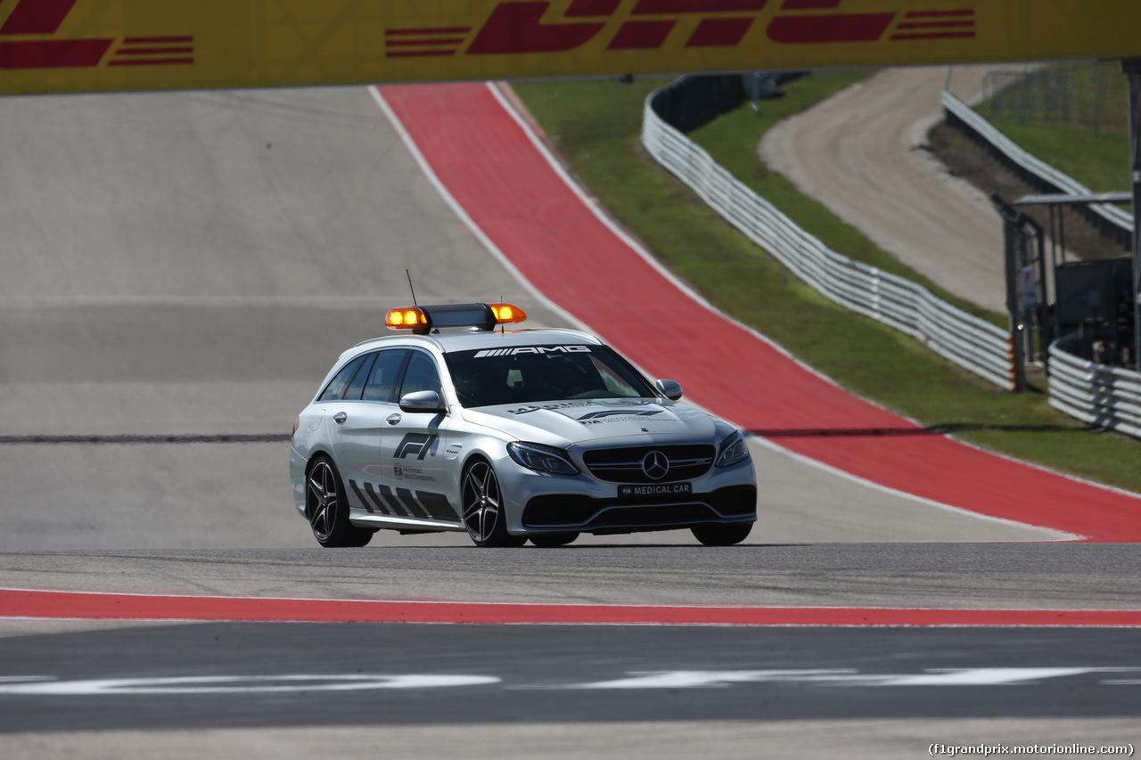GP USA, 21.10.2018- Gara, The official medica car