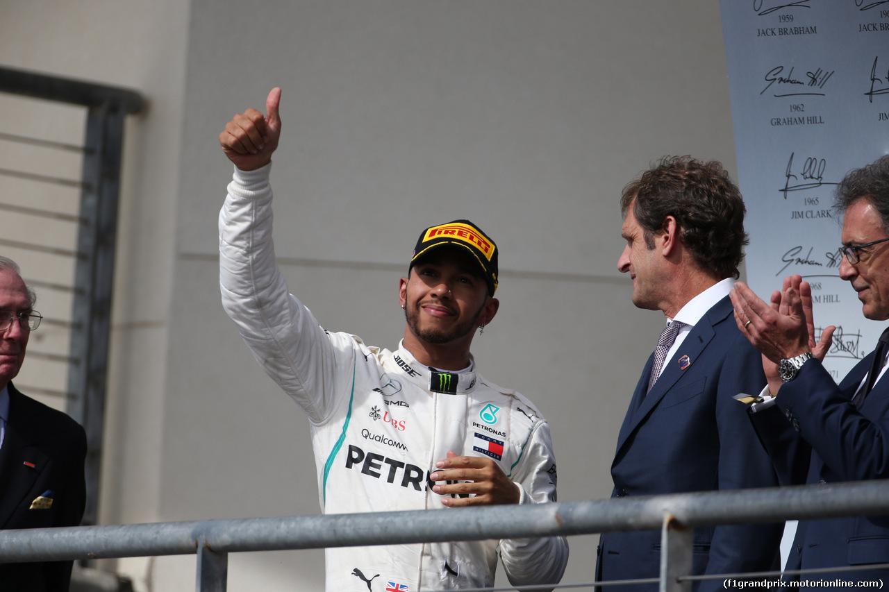 GP USA, 21.10.2018- Posium, Lewis Hamilton (GBR) Mercedes AMG F1 W09