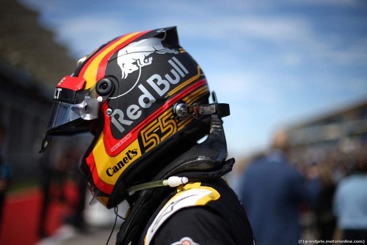 GP USA, 21.10.2018- Gara, Carlos Sainz Jr (ESP) Renault Sport F1 Team RS18