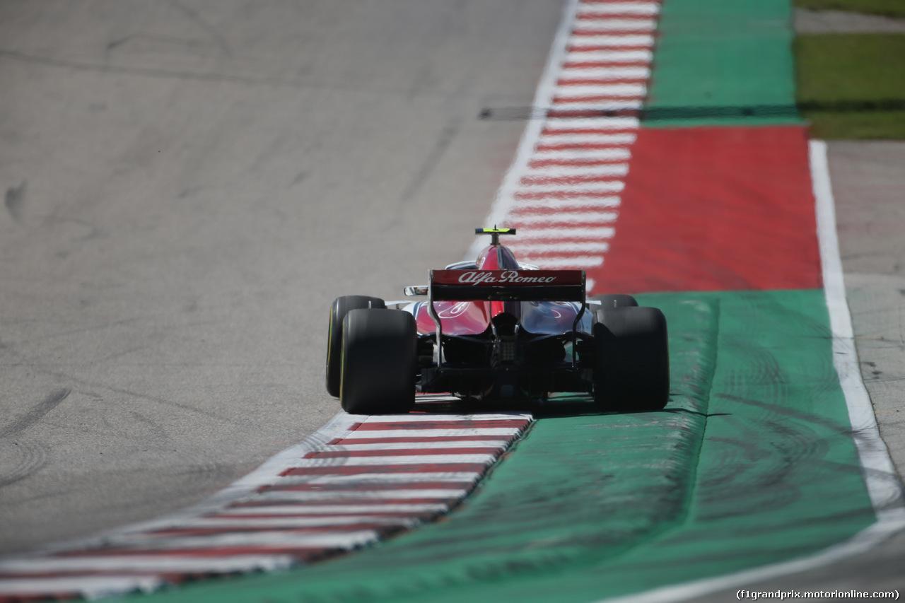 GP USA, 21.10.2018- Gara, Charles Leclerc (MCO) Alfa Romeo Sauber C37