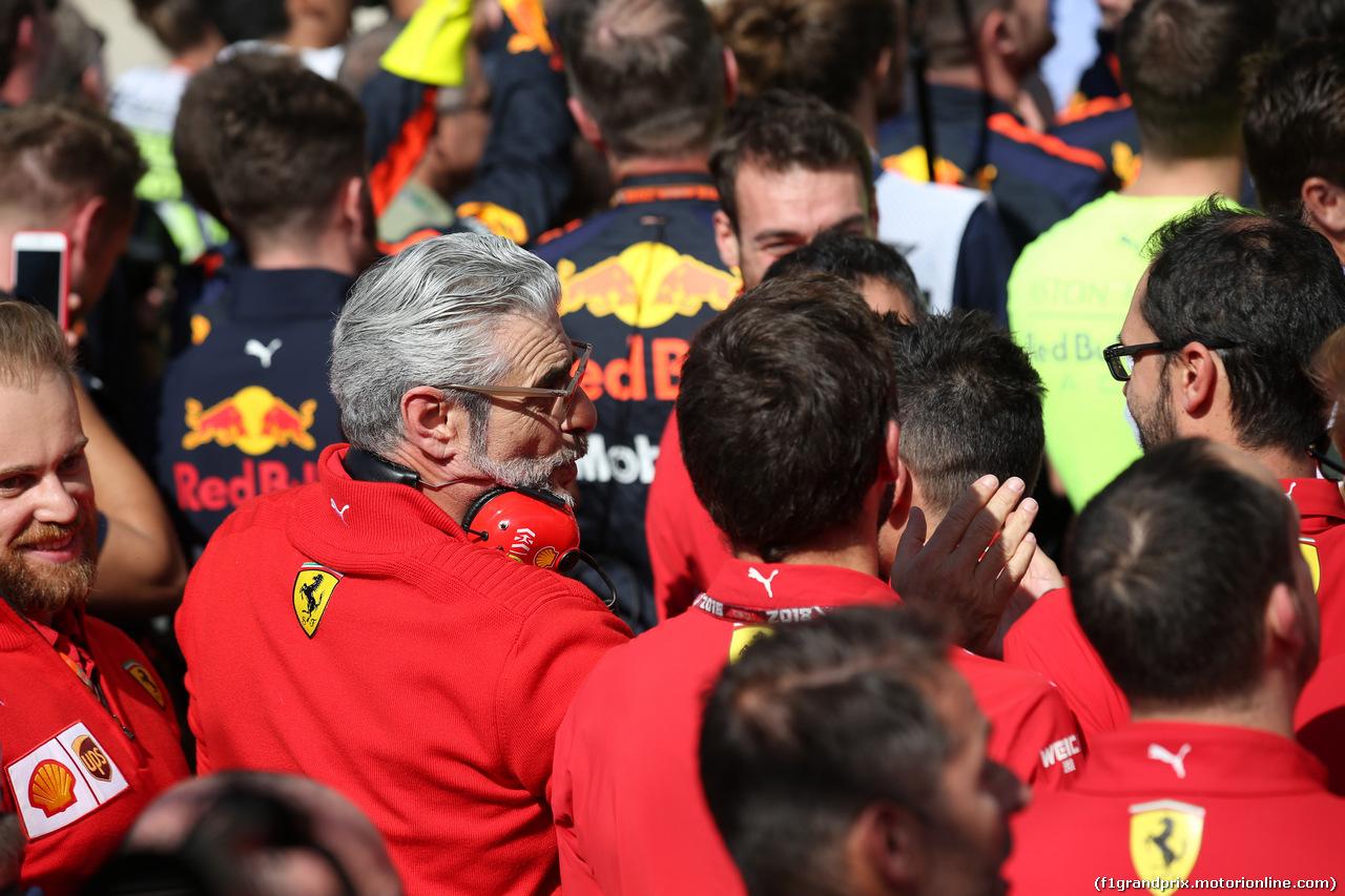 GP USA, 21.10.2018- Maurizio Arrivabene (ITA) Ferrari Team Principal