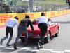 GP USA, 21.10.2018- driver parade, Charles Leclerc (GER) Alfa Romeo Sauber C37