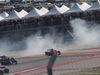 GP USA, 21.10.2018- Gara, Sebastian Vettel (GER) Ferrari SF71H spins
