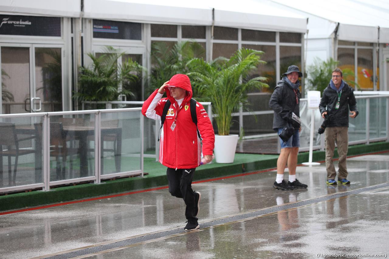 GP USA, 19.10.2018- Kimi Raikkonen (FIN) Ferrari SF71H