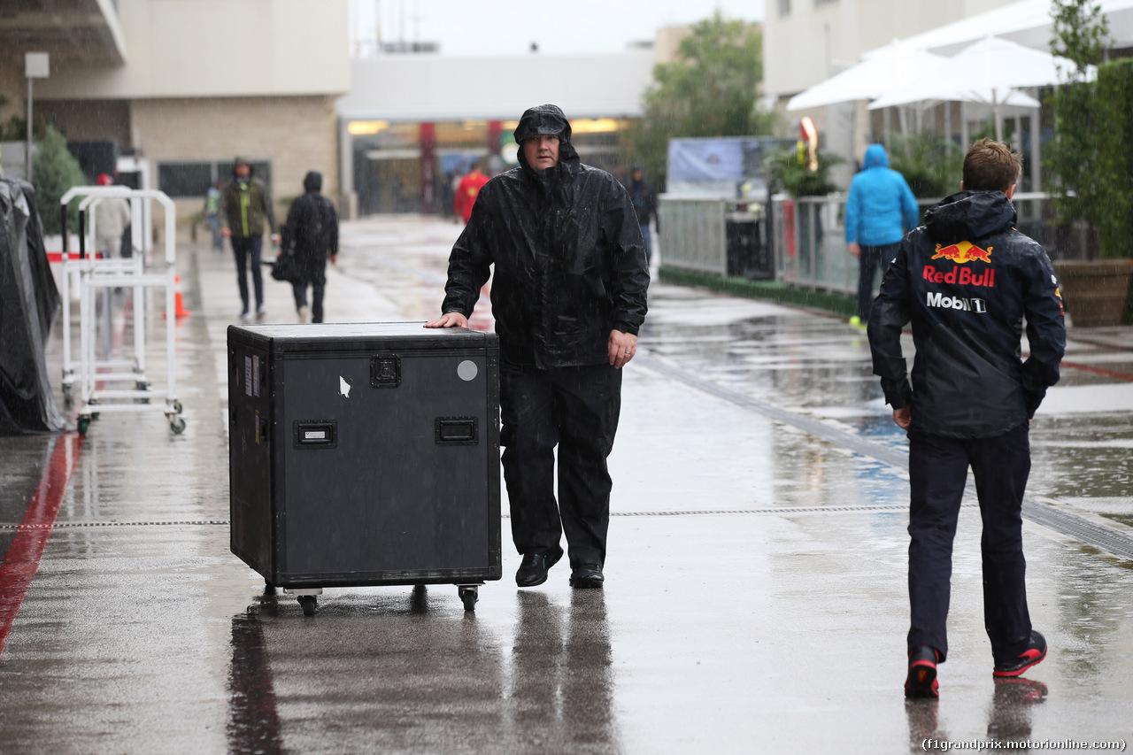 GP USA, 19.10.2018- Rain