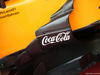 GP USA, 18.10.2018- Coca Cola Logo on McLaren Renault MCL33