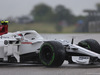 GP USA, 19.10.2018- free Practice 1, Charles Leclerc (GER) Alfa Romeo Sauber C37 spins e go in the grevel