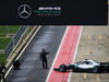 MERCEDES F1 W09, Valtteri Bottas (FIN) Mercedes AMG F1 W09 in the pits. 22.02.2018.