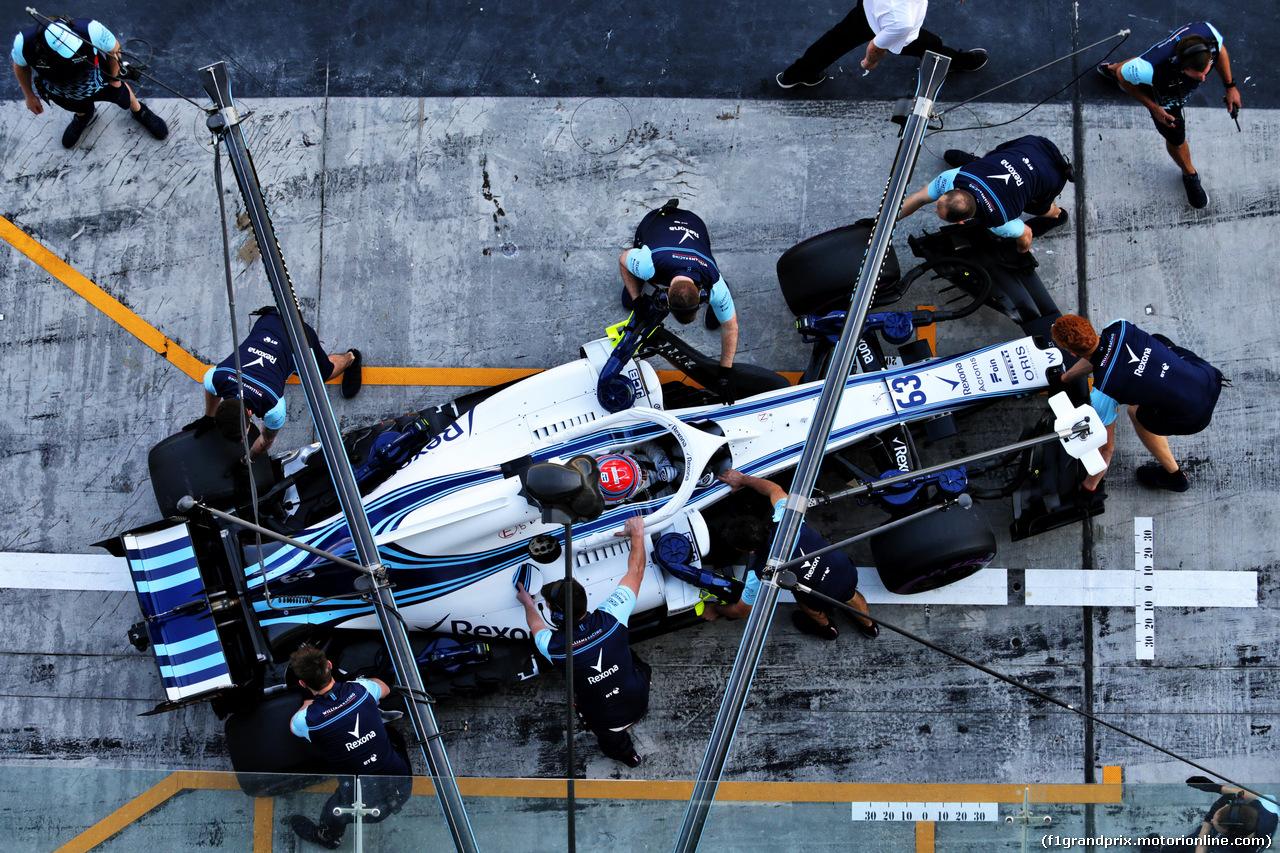 TEST F1 ABU DHABI 27 NOVEMBRE, George Russell (GBR) Williams FW41. 27.11.2018.