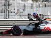 TEST F1 ABU DHABI 27 NOVEMBRE, Pietro Fittipaldi (BRA) Haas VF-18 Test Driver stops on the circuit. 27.11.2018.