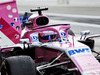TEST F1 ABU DHABI 27 NOVEMBRE, Sergio Perez (MEX) Racing Point Force India F1 VJM11. 27.11.2018.