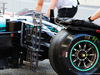 TEST F1 BARCELLONA 15 MAGGIO, Lewis Hamilton (GBR) Mercedes AMG F1 W09 front wheel sensor equipment. 15.05.2018.