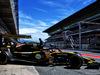 TEST F1 BARCELLONA 15 MAGGIO, Carlos Sainz Jr (ESP) Renault Sport F1 Team RS18 leaves the pits. 15.05.2018.