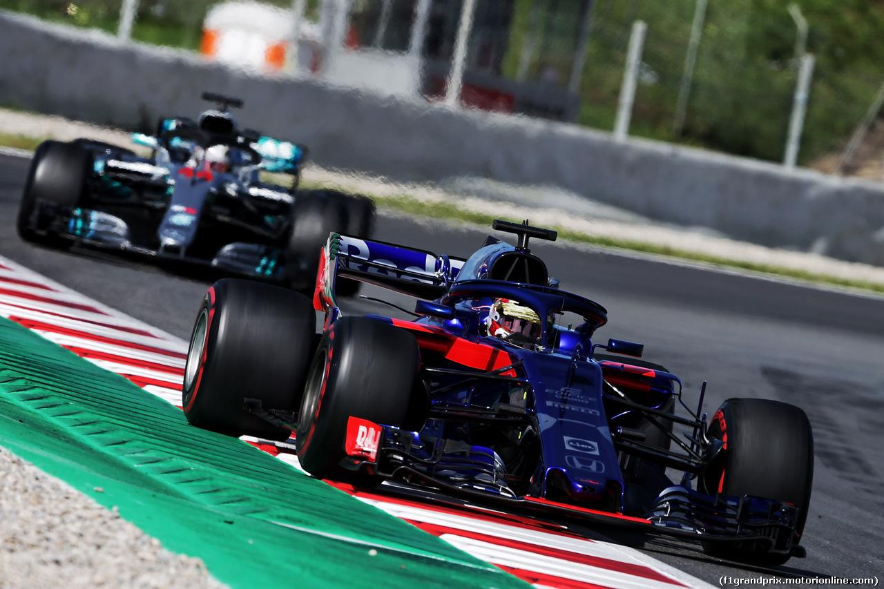 TEST F1 BARCELLONA 15 MAGGIO