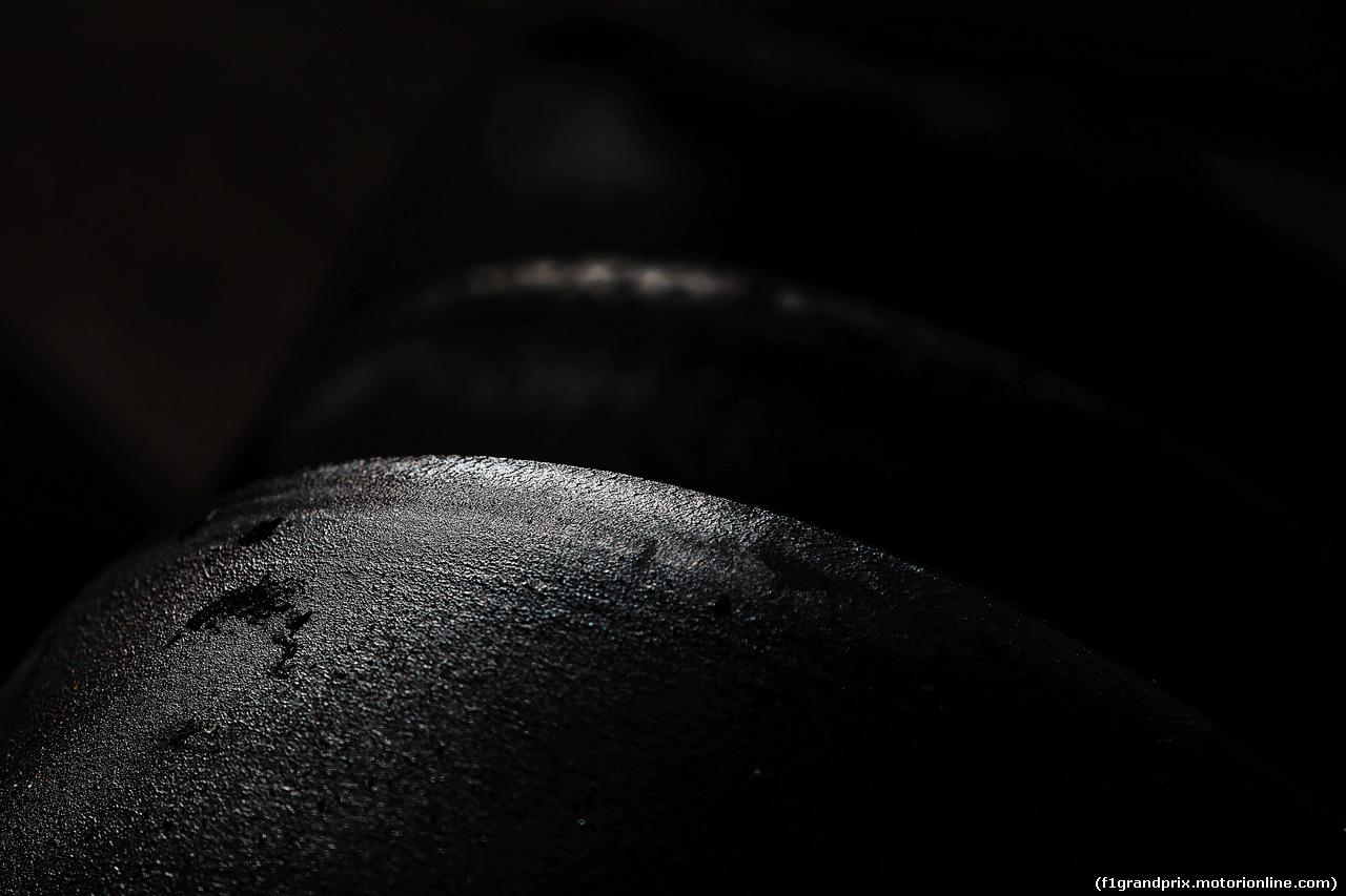 TEST F1 BARCELLONA 15 MAGGIO, Pirelli tyres. 15.05.2018.