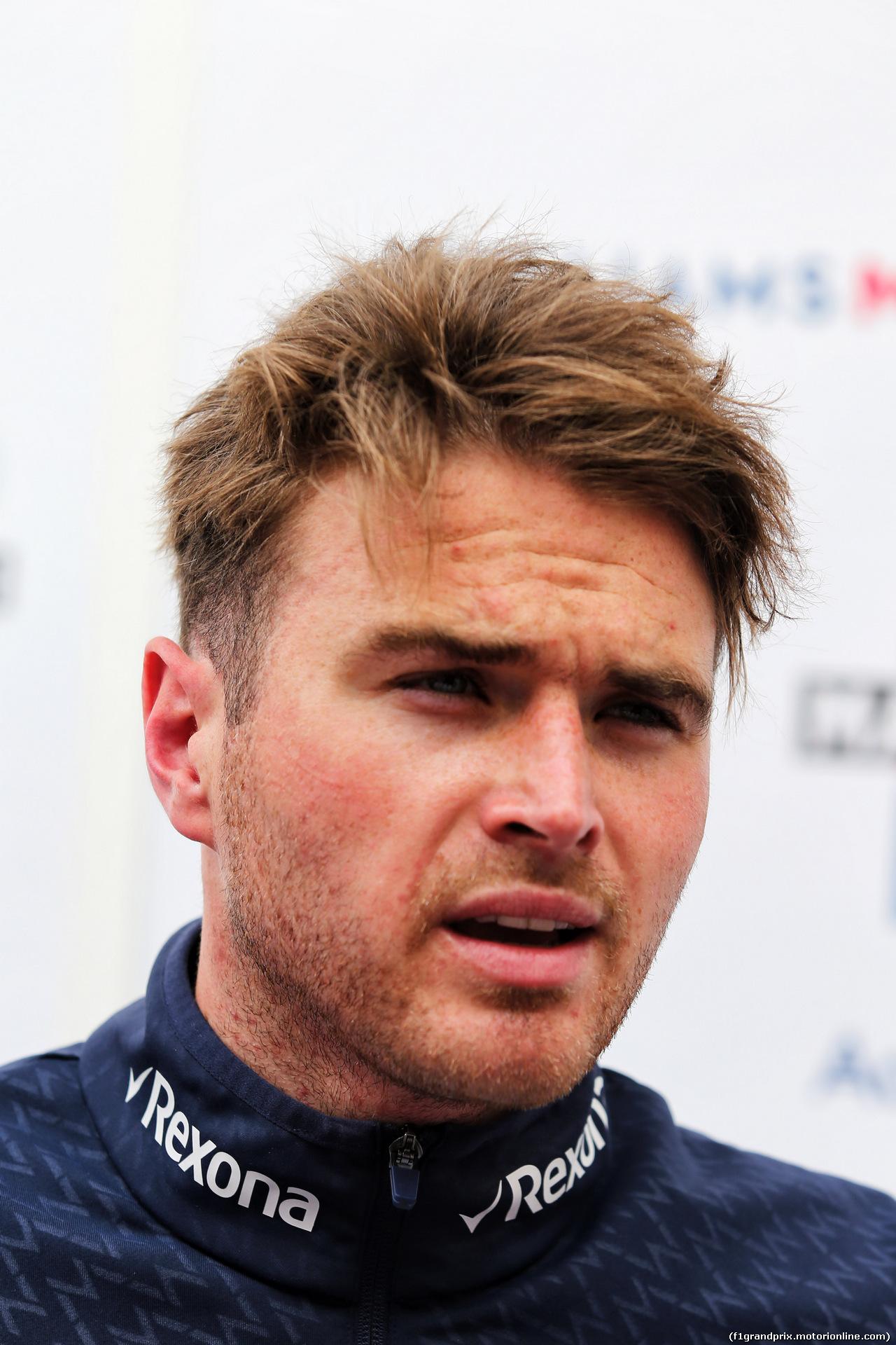TEST F1 BARCELLONA 15 MAGGIO, Oliver Rowland (GBR) Williams FW41 Test Driver. 15.05.2018.