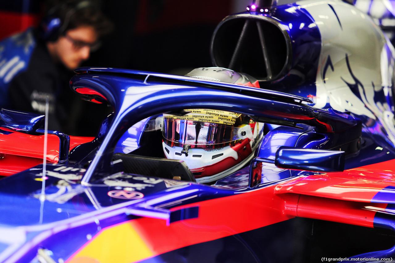 TEST F1 BARCELLONA 16 MAGGIO, Sean Gelael (IDN) Scuderia Toro Rosso STR13 Test Driver. 16.05.2018.
