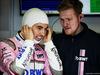 TEST F1 BARCELLONA 1 MARZO, Sergio Perez (MEX) Sahara Force India F1. 01.03.2018.