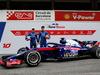 TEST F1 BARCELLONA 26 FEBBRAIO, (L to R): Pierre Gasly (FRA) Scuderia Toro Rosso e Brendon Hartley (NZL) Scuderia Toro Rosso with the Scuderia Toro Rosso STR13. 26.02.2018.
