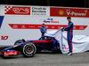 TEST F1 BARCELLONA 26 FEBBRAIO, Brendon Hartley (NZL) Scuderia Toro Rosso STR13 e Pierre Gasly (FRA) Scuderia Toro Rosso reveal the Scuderia Toro Rosso STR13. 26.02.2018.