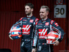 TEST F1 BARCELLONA 26 FEBBRAIO, (L to R): Romain Grosjean (FRA) Haas F1 Team with Kevin Magnussen (DEN) Haas F1 Team. 26.02.2018.