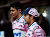 TEST F1 BARCELLONA 26 FEBBRAIO, Sergio Perez (MEX) Sahara Force India F1 e Esteban Ocon (FRA) Sahara Force India F1 Team. 26.02.2018.