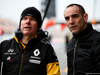 TEST F1 BARCELLONA 26 FEBBRAIO, (L to R): Alan Permane (GBR) Renault Sport F1 Team Trackside Operations Director with Cyril Abiteboul (FRA) Renault Sport F1 Managing Director. 26.02.2018.